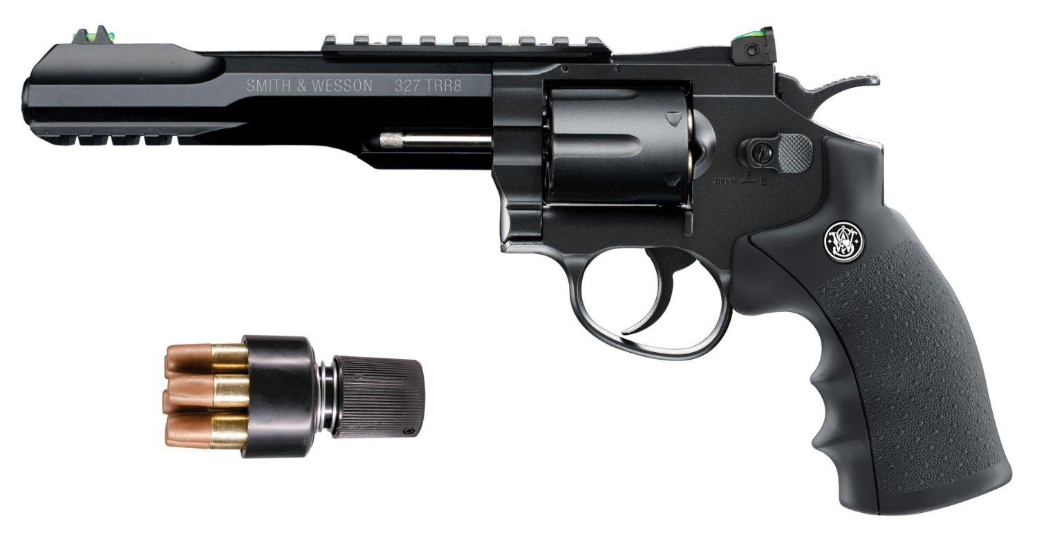 Smith & Wesson 327 TRR8 CO2 BB Revolver Review